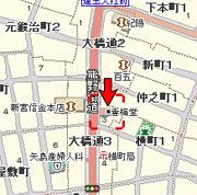 香梅堂地図